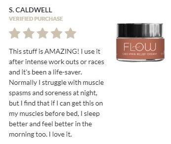 Fairwinds CBD Pain Relief Cream Customer Review
