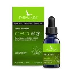 Fairwinds CBD Release Tincture