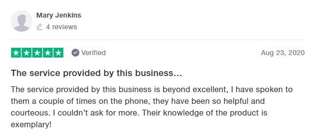 Hope CBD Customer Review 4