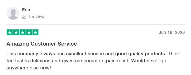 Hope CBD Customer Review 6