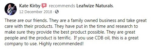 Leafwize Naturals CBD Customer Review 2