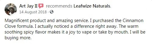Leafwize Naturals CBD Customer Review 3