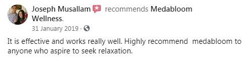 Medabloom CBD Customer Review 2