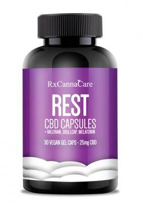 Rx Canna Care CBD Capsules