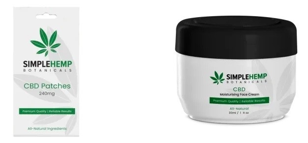 Simple Hemp Botanicals CBD Topicals