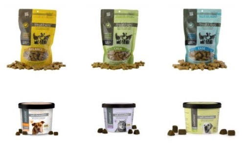 Treatibles CBD Hard and Soft  Chews for Dogs