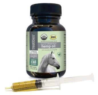 Treatibles CBD Organic Full Spectrum Hemp Oil for Horses