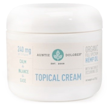 Treatibles CBD Topical Cream for People
