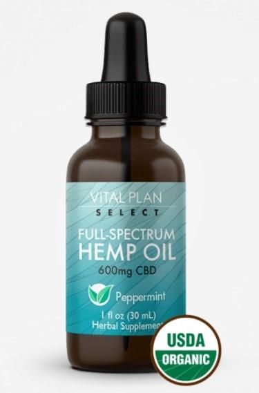 Vital Plan Select CBD Full Spectrum Hemp Oil