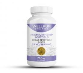 WellPUR Organics CBD Capsules