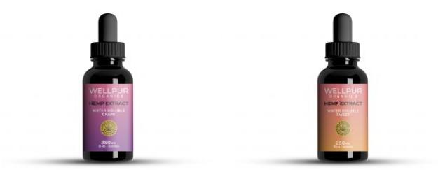 WellPUR Organics CBD Water Soluble Nano Tincture