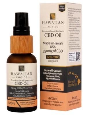 Hawaiian Choice CBD Active CBD Oil