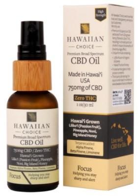 Hawaiian Choice CBD Broad Spectrum CBD Oil