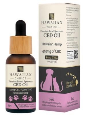 Hawaiian Choice CBD Broad Spectrum CBD Pet Oil