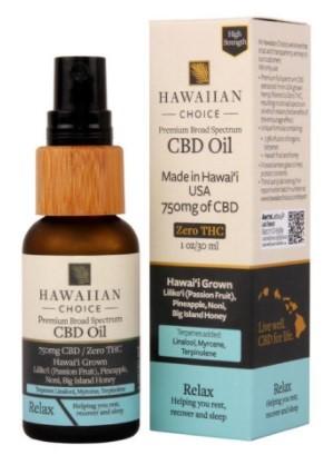 Hawaiian Choice CBD Oil