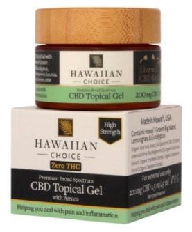 Hawaiian Choice CBD Topical Gel