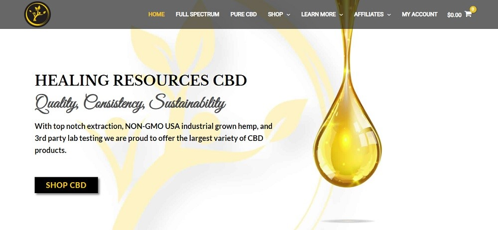 Healing Resources CBD Review
