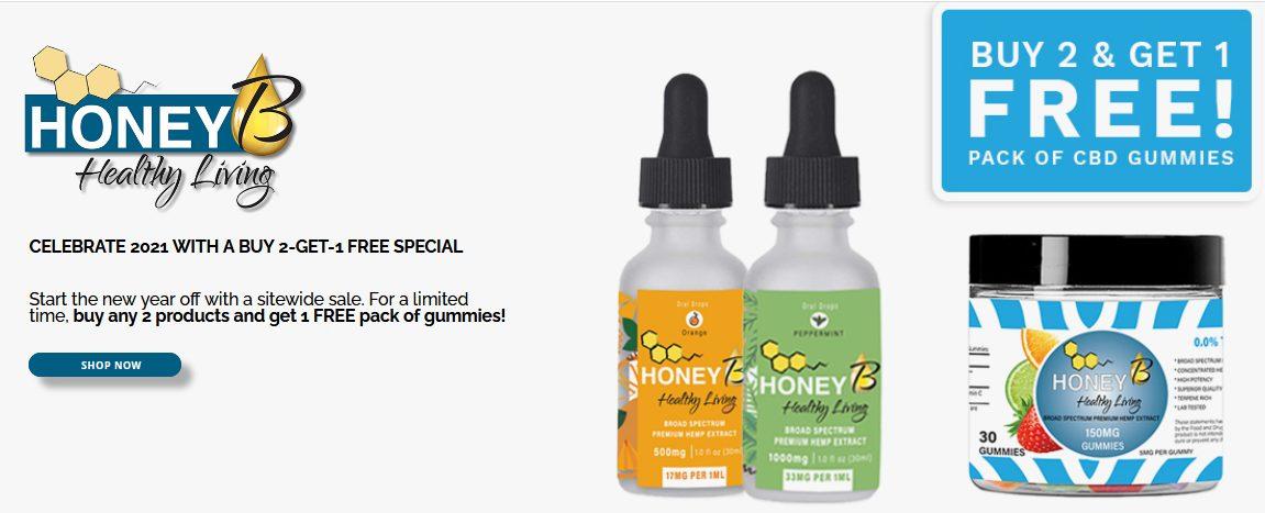 Honey B Healthy Living CBD Review