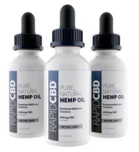 Isodiol International Inc CBD Rapid CBD Pure Hemp Oil