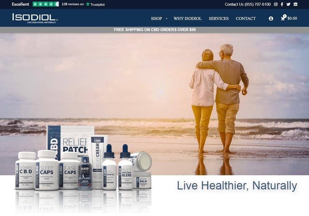 Isodiol International Inc CBD Review