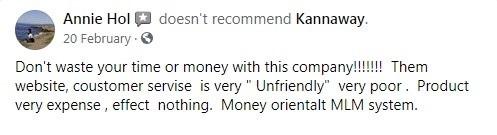 Kannaway CBD Customer Reviews 2
