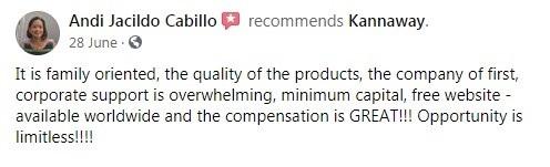 Kannaway CBD Customer Reviews 3