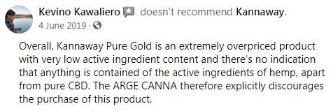 Kannaway CBD Customer Reviews