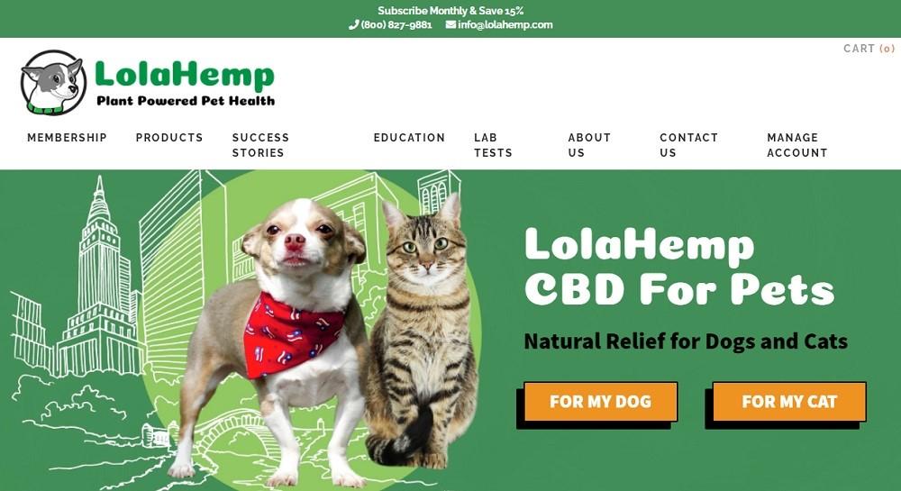 LolaHemp For Pets Review