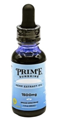 Prime Sunshine CBD Broad Spectrum CBD Oil