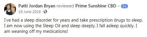 Prime Sunshine CBD Customer Reviews 3