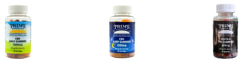 Prime Sunshine CBD Gummies