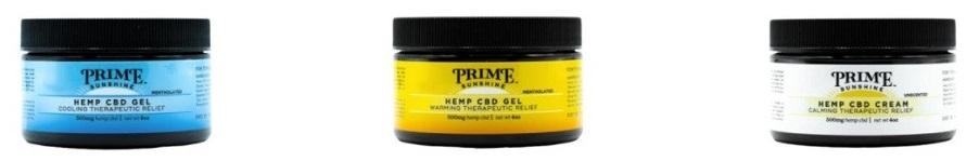 Prime Sunshine CBD Topicals