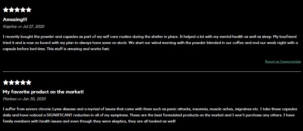 UnCanny Wellness CBD THC Free CBD Oil Customer Reviews