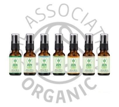 Zen CBD Organic CBD Sprays